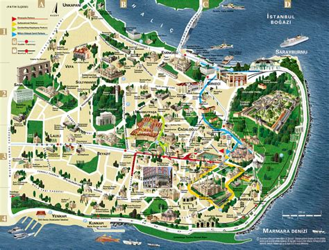 istanbul map tourist attractions most useful istanbul maps istanbul turkey guide