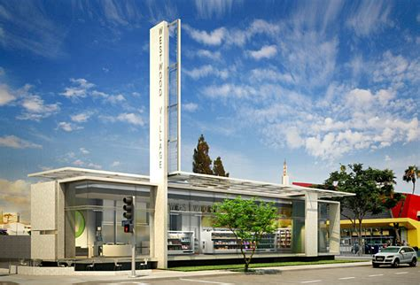 Westwood Village Convenience Store Kanner Architects Archinect