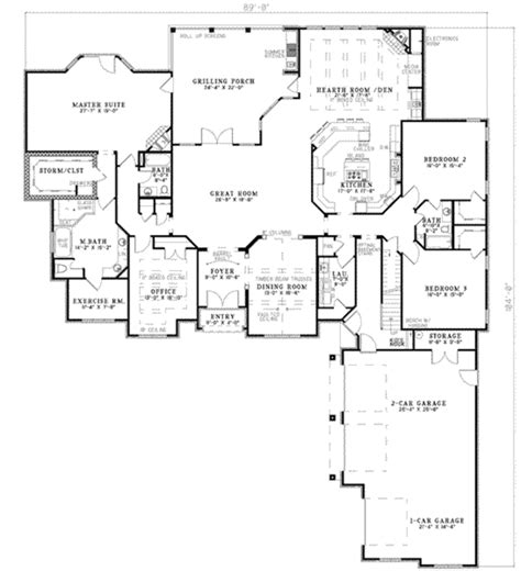628 fleet floor plans european style house plan 3 beds 3 50 baths 4121 sq ft plan 17 628
