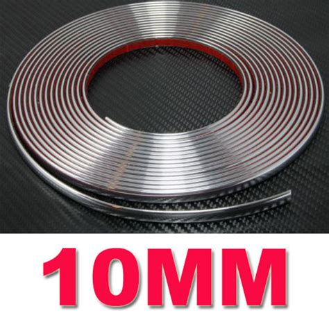 List Moulding Crome 15mm aliexpress buy 10mm x 3metres chrome styling