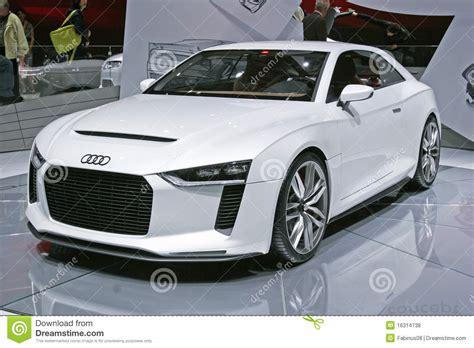 Audi Sportwagen by Audi Sportwagen Redaktionelles Stockfoto Bild 16314738