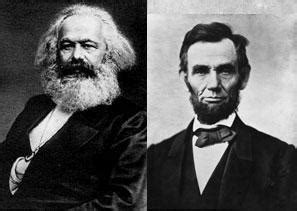 reading karl marx with abraham lincoln | international
