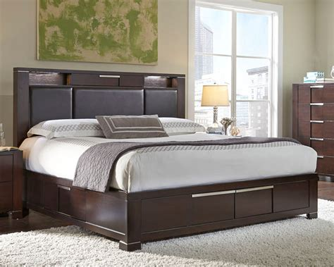 studio bedroom furniture najarian furniture bed w storage footboard studio na stbed