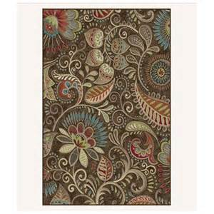 Floral Area Rugs Tayserugs Brown Floral Area Rug Reviews Wayfair