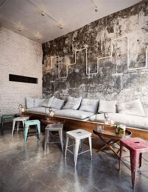 industrial interiors best 25 cafe seating ideas on cafe design