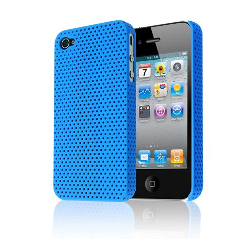 Hardcase Nilkin Iphone 4 4g 4s Back Cover Frosted Shield 1 mesh perforated back impact plastic cover for apple iphone 4 4s 4g