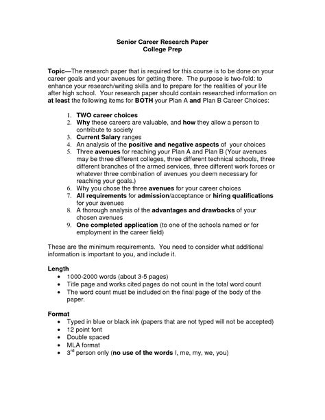 Research career essay examples