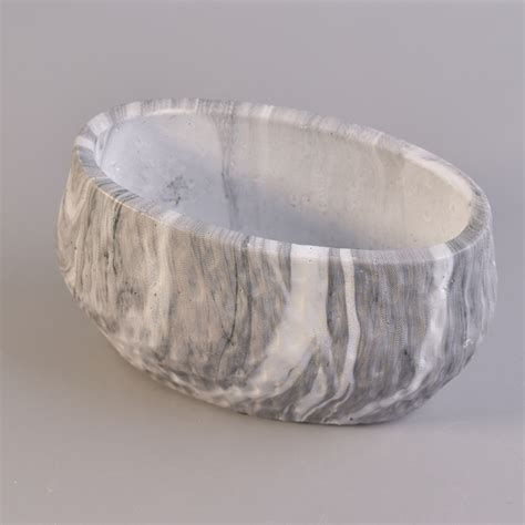 marble wholesale ellipse ceramic marble candle holders wholesale