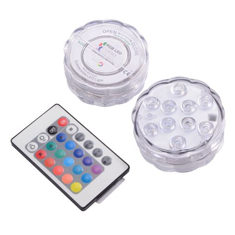 remote control battery operated christmas lights ir remote control smd5050 rgb submersible led lights aaa