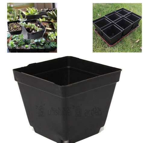 black square plant pots buy wholesale black square pots from china black