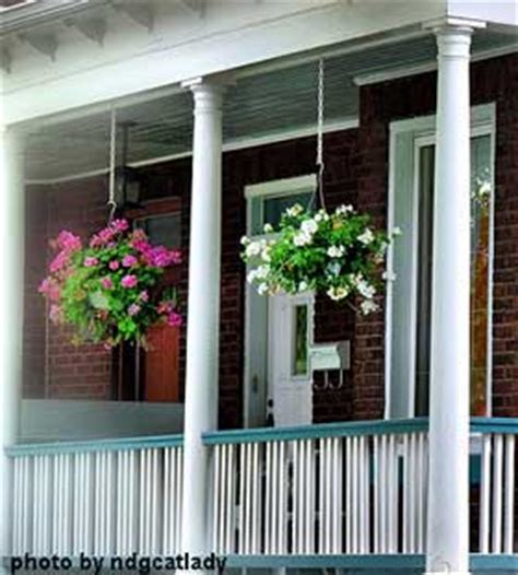 House Plans With Front Porch Hanging Baskets Hanging Flower Baskets Home
