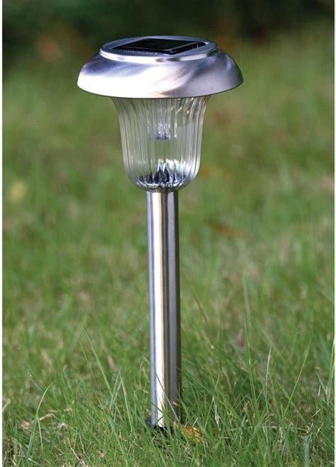 Henley 8 Pack Of Solar Stake Lights Industrial Path Industrial Solar Lighting