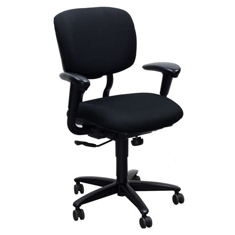 haworth improv he series used task chair black national