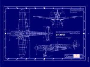 blueprint program bf 109 plans submited images pic2fly