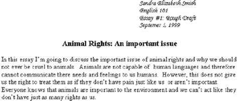 Do Animals Rights Essay by Ion Pointers And Clickers July 2000