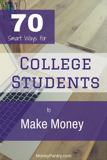 Ways To Make Money In College Online - 70 smart ways for college students to make money best work from home jobs online