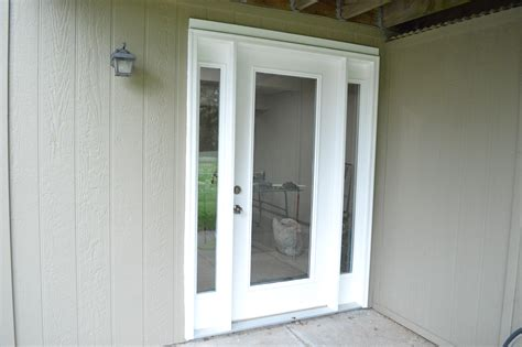 door outside single front door with one sidelight