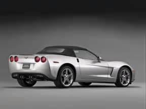 2005 chevrolet corvette c6 convertible studio rear