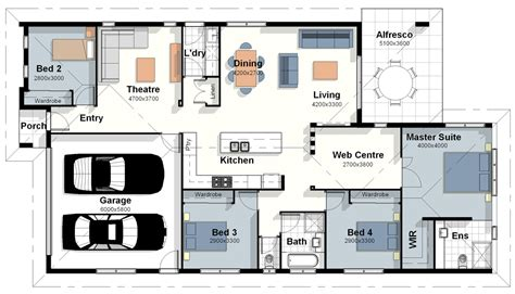 new home design floor plans the new york house plan