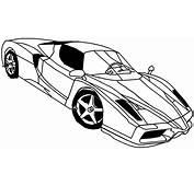Coloriage &224 Imprimer  V&233hicules Voiture Ferrari Num&233ro 678406