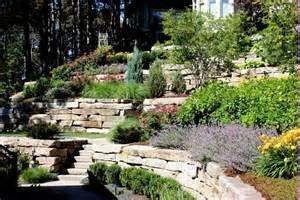 small sloping backyard landscaping ideas best garden
