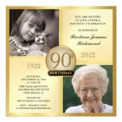 90 Birthday Invitation Templates by 90th Birthday Invitation Templates 4 000 90th Birthday