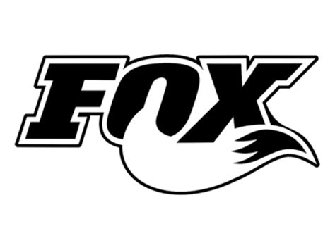 Sticker Decals For Walls fox logo 4 2 colors eshop stickers