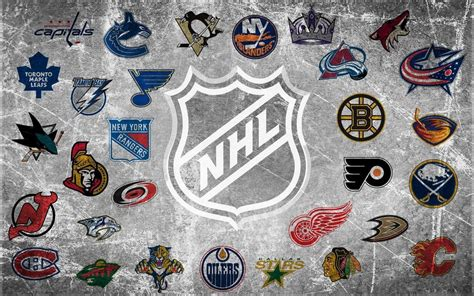 Nhl Standings by Nhl Logo Wallpapers Wallpaper Cave