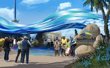 seaworld san diego to remake its entry plaza as 'explorer