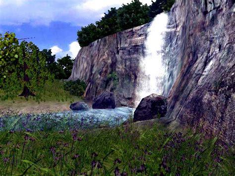 living waterfall screensaver  animated