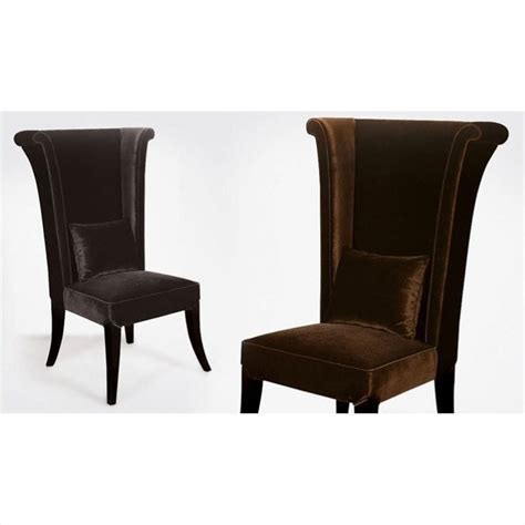 Cymax Dining Chairs Armen Living Mad Hatterparsons Dining Chair In Black Lc847sibl