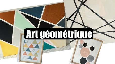 table ux diy tableaux d art g 233 om 233 trique youtube