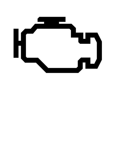 what would a check engine light go on check engine light vector images