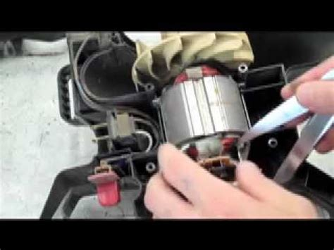 Rainbow Vaccum Parts How To Fix An Electric Leaf Blower Vacuum Youtube