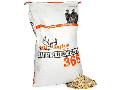 anilogics supplement 365 deer supplement 1000 lbs 50 lb bags