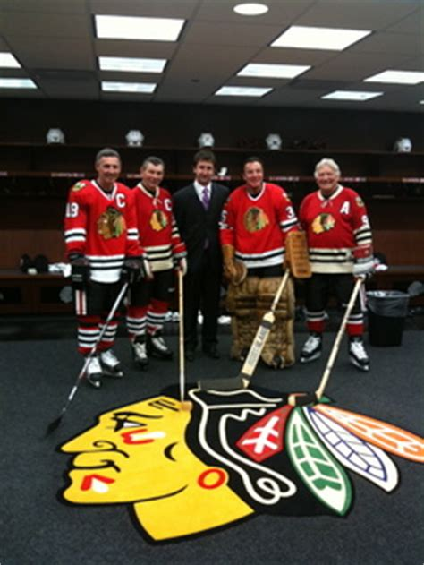 chicago blackhawks dressing room as blackhawks team physician terry takes on challenges of sports medicine