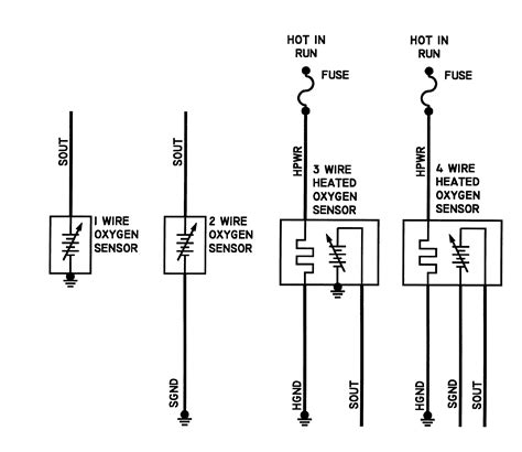 4 wire o2 sensor wiring diagram camry get free image