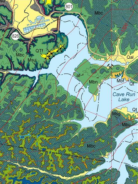 kentucky geologic map new northeastern kentucky geological map released by kgs