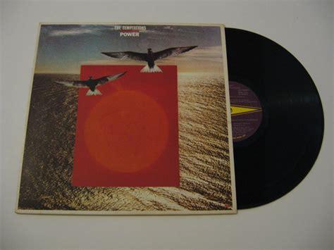 Piringan Hitam Vinyl The Temptations Power the temptations power 1980 vinyl records