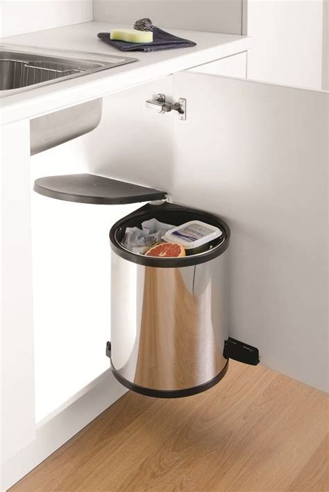 Kitchen Door Waste Bins by Wesco Waste Recycling Bin Door Mounted Waste Bins