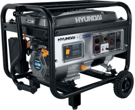 hyundai hhd3500 home power series portable generator