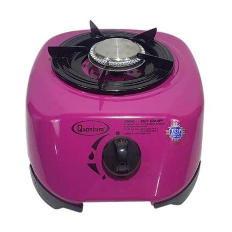 Kompor Quantum Stainless jual quantum qgc 112dmp pink kompor gas 1 tungku harga kualitas terjamin blibli