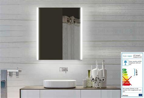 spiegelschrank 60x70 led spiegelschrank 60x70 cm warm kalt licht alurahmen mit