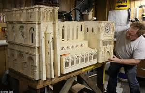 House Blueprints Maker by Madcap Model Maker Spends A Decade Building The Notre Dame