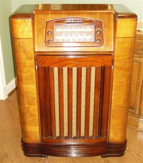 Philco Record Player Cabinet by Philco 46 1209 Radio Phonograph Record Player Am Console