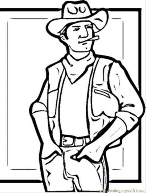 Western Bandana Coloring Page Coloring Pages Western Coloring Pages