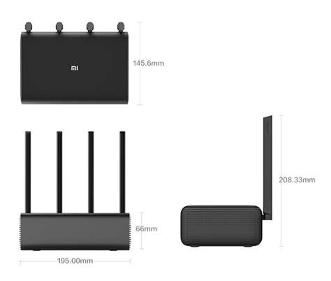 Xiaomi Mi Wifi Hd Router Pro Black original xiaomi mi smart router pro hd 802 11ac 2533mbps