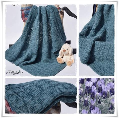 Decke Muster by Sanja Baby Blanket Knitting Pattern By Jolanda Schneider