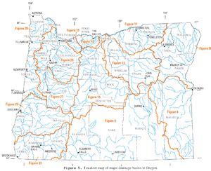 elk river oregon map list of rivers of oregon