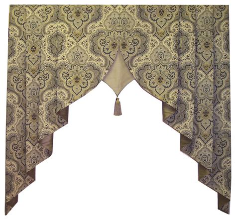 traditional curtains and valances arcadia valance